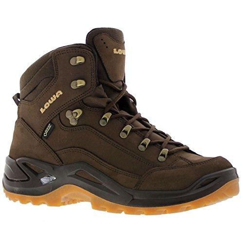 - Lowa Women's Renegade GTX Mid Hiking Boot (7 B(M) US, Espresso/Honey)