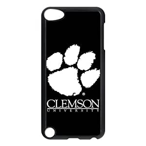 Custom Clemson Tigers Back Cover Case for ipod Touch 5 JNIPOD5-009