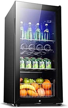 Refrigerador de la gabinete de Vino del compresor de 24 Botellas, una Bodega de Vino Independiente Grande, con Cerradura, refrigerador de Control de Temperatura, Puerta de Vidrio Templado