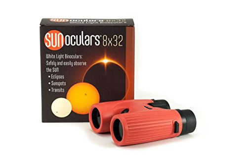 Sunoculars-Red with 8x the magnification of Eclipse Glasses