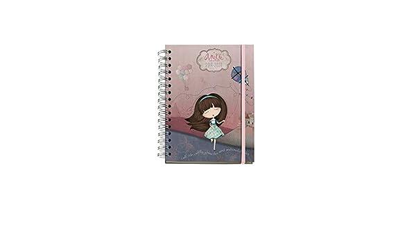 Amazon.com : Anekke School Diary 19/20 Liberty Week to View ...