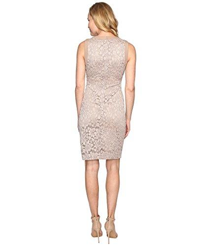 Dress Klein Lace Sheath Side Womens Ruched Calvin Khaki CD6L1Q6Q Wv7wY6qw