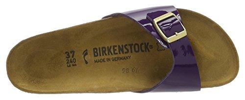 Birkenstock Madrid Birko-flor - Mules Mujer Violett (Lilac Lack)