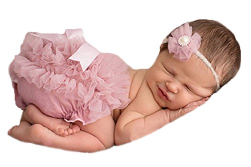 Baby Girls Chiffon Bloomer, Diaper Cover, Ruffles Bloomer