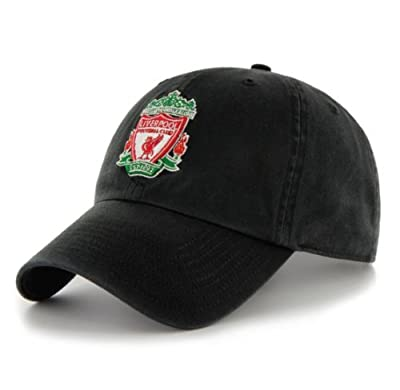 Official Liverpool FC Black Cleanup Ball Cap Hat