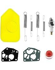 9 STUKS Lente Luchtfilter Pakking Diafragma primer Bulb Kit Motoren Gouverneur Springs met Carburateur Diafragma Algemene Vervanging