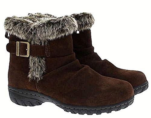 Khombu Women's All-Weather Lindsey Suede Boots (10, ()