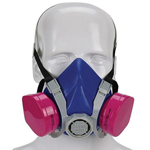 Safety Works SWX00319 Toxic Dust Respirator