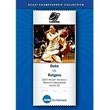 2007 NCAA(r) Division I Women's Basketball Sweet 16 - Duke vs. Rutgers