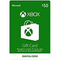 $50 Xbox Gift Card - [Digital Code]