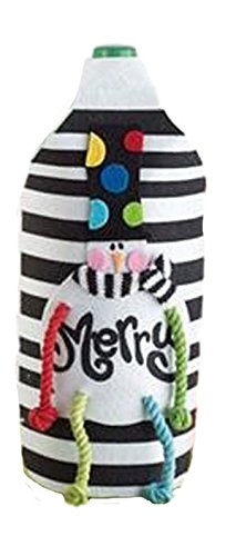 Amazon.com: Mud Pie Navidad Holly Jolly Botella de refresco ...