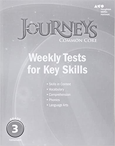 Amazon journeys common core weekly assessments grade 3 journeys common core weekly assessments grade 3 1st edition by houghton mifflin harcourt fandeluxe Image collections