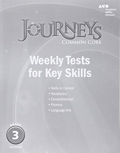 Journeys: Common Core Weekly Assessments Grade 3