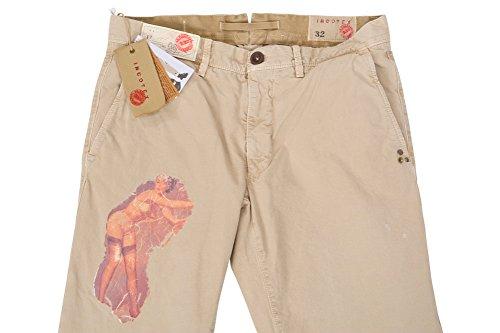 Incotex Pantalon Homme 32 Beige / Chinos Taille normale Coupe régulière R
