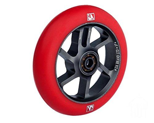 UrbanArtt S7 110mm Wheels Red/Gray (Pair)