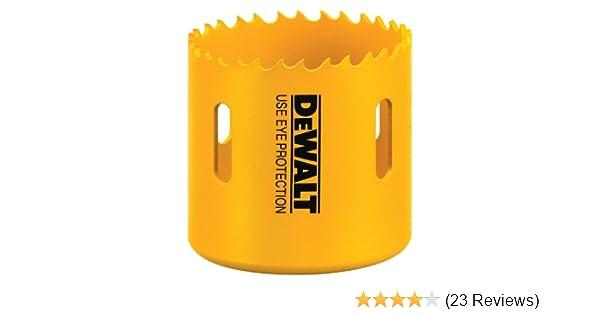 DEWALT D180028 1-3//4-Inch Standard Bi-Metal Hole Saw