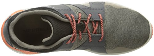 Merrell Womens 1six8 Lace Fashion Sneaker In Alluminio