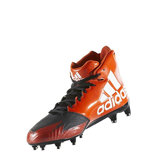 Adidas Buitenissig X Carbon Mid Klamp Heren Voetbal Kern Zwart-wit-collegiale Orange