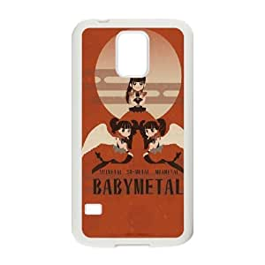 Japan music band BabyMetal posters Hard Plastic phone Case Cove For Samsung Galaxy S5 JWH9181519