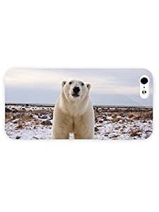 3d Full Wrap Case for iPhone 6 plus 5.5 Animal Curious Polar Bear