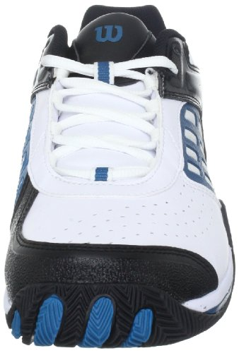 Wilson Trance Strike II wrs991100135 Herren Sportschuhe - Tennis Weiss (white/black/teel)