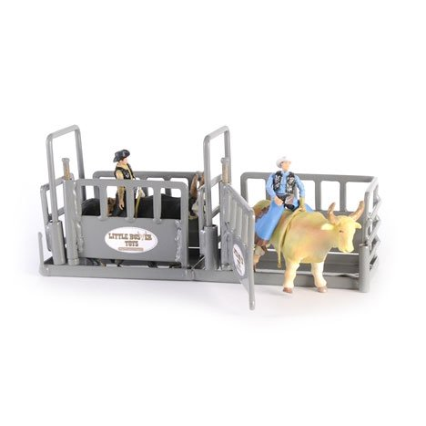 Little Buster Toys Bucking Chute - All Welded Steel Construction, Perfect for Two Bulls, 1/16th scale ()