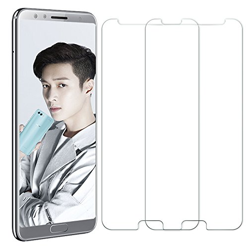 [2 Unidades] Protector de Pantalla Huawei Nova 2S, Senisttech 0.33mm Ultra Transparencia HD, 3D Touch Compatibles, 9H Dureza Cristal Vidrio Templado Para Huawei Nova 2S