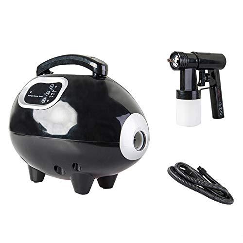 XIAOLY Spray Gun Tanning Gun Spray Tanning Machine Tanning Salon Sprayer Matt Tanning Machine - Give You A Bronze Skin(Pink, Black),Black (Spray Tan Pop Up Tent For Sale)