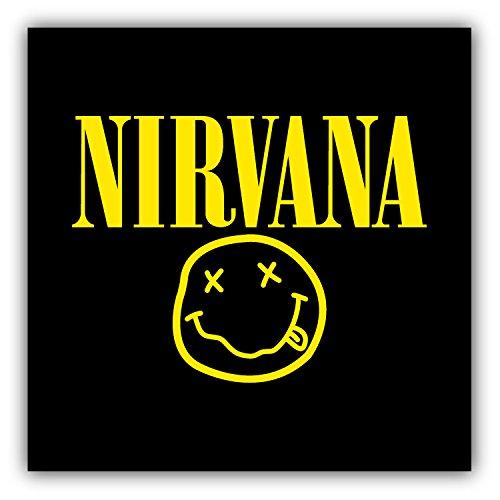 valstick Nirvana Car Bumper Sticker Decal