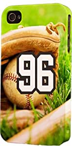 iphone covers Baseball Sports Fan Player Number 96 Snap On Flexible Decorative Iphone 6 plus Case