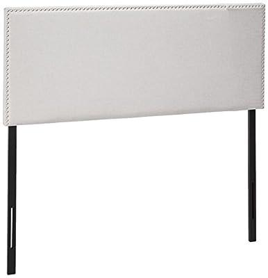 Zinus Upholstered Nailhead Rectangular Headboard