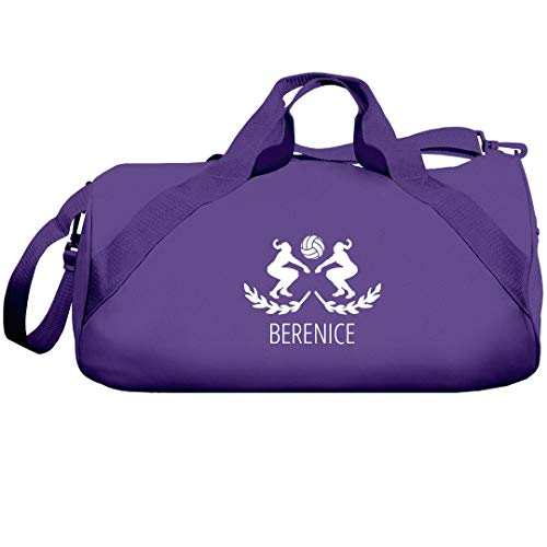 Berenice Volleyball Girl: Liberty Barrel Duffel Bag by FUNNYSHIRTS.ORG