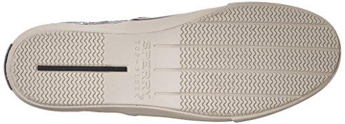 Sperry Top-sider Menns Striper Ll Cvo Mote Sneaker Blå Lin