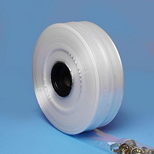 Polyethylene Clear PolyTubing Bags 10'' X 1450' - Poly Tubing Bags by Paper Mart by Paper Mart