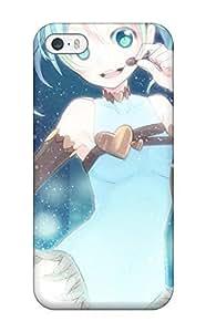 Iphone 5/5s Case Bumper Tpu Skin Cover For Blue Vocaloid Hatsune Miku Chocolatetwintails Anime Aqua Aqua Accessories