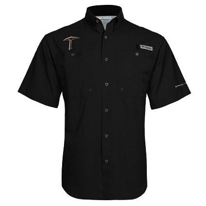 fbb40ab2f Amazon.com   UTEP Columbia Tamiami Performance Black Short Sleeve ...