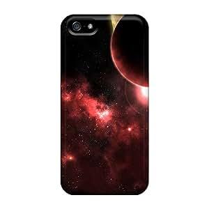 New Arrival PJg7128DZZP Premium Iphone 5/5s Cases(3d Space)