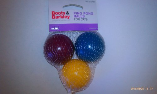 Image Boots & Barkley Ping Pong Balls for Cats