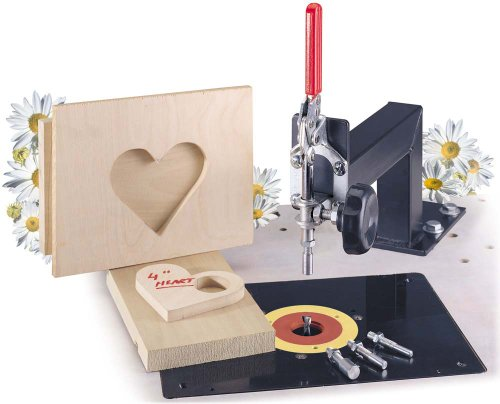 MLCS 9061 Woodworking Daisy Pin Router - Door And Window Router Bits -