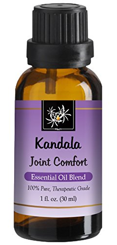 Joint Comfort Essential Oil Blend - 30 ml - Pain, Swelling & Stiffness. with Lavandin, Birch, Rosemary, Pine Needle, Frankincense, 100% Pure, Therapeutic Grade