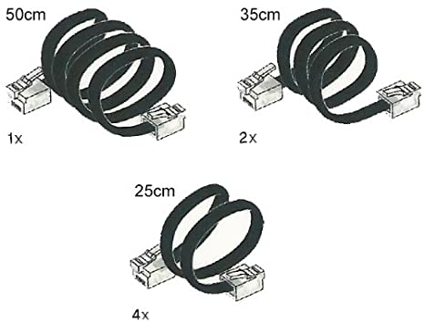 Amazon com: LEGO Mindstorms NXT / EV3 Connector Cables