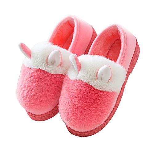 con 31 da casa calde scarpe EU 38 Ciabatte EU in cotone per donna YMFIE antiscivolo fondo 30 39 ginnastica per per bambini FxwYzTn57