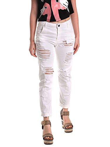 Fornarina BE171L94D877KM Jeans Femmes Blanc