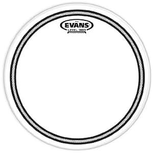 evans ec2 clear drum head 8 inch musical instruments. Black Bedroom Furniture Sets. Home Design Ideas