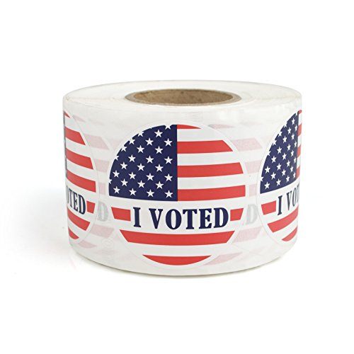 """I Voted"" Stickers – 2″  Qty. 500pcs/Roll"