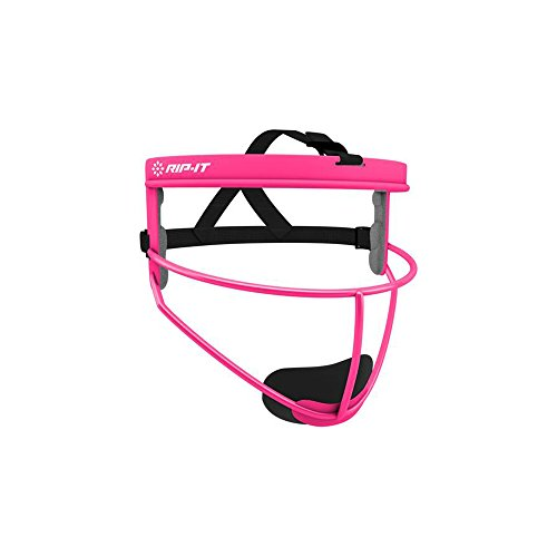 RIP-IT Defense Softball Fielder's Face Mask (Pink, Youth)