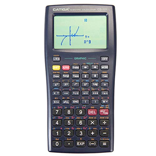 Graphing Calculator - CATIGA CS121 - Scientific and Engineering Calculator - Programmable System