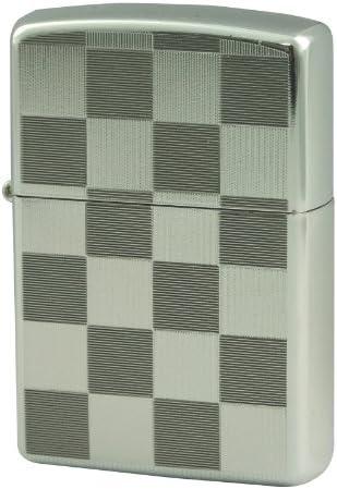 ZIPPO(ジッポー) ライター チェック 両面加工 20-CHE グレー