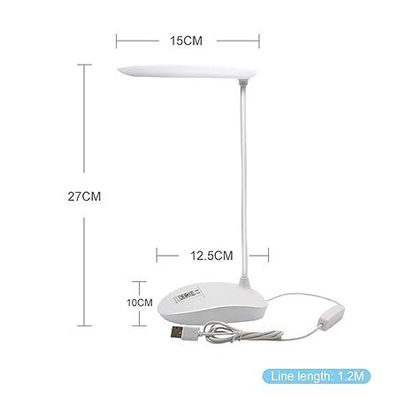 YANODA USB LED Lámpara De Mesa Lámpara De Sobremesa For ...