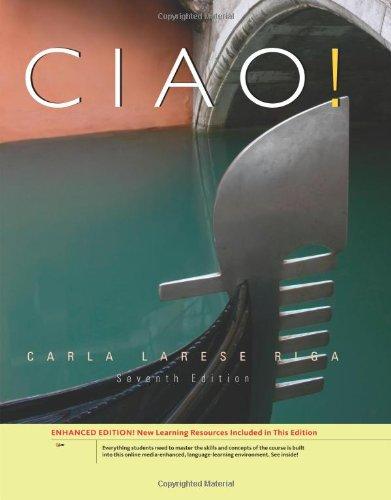 Ciao!, Enhanced (World Languages)